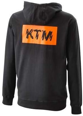 X-LARGE NEW KTM RADICAL ZIP HOODIE BLACK