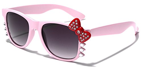 Hello Kitty Bow Women's Rhinestone Fashion Glasses with Bow and -