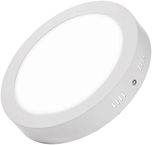 Plafon de Techo LED 25W 2500lm Downlight Blanco Frío 6000k-6500k Circular Φ285mm Superficie Panel LED Iluminacion Para Sala de Estar,Comedor,Dormitorio,Oficina ONSSI LED: Amazon.es: Iluminación