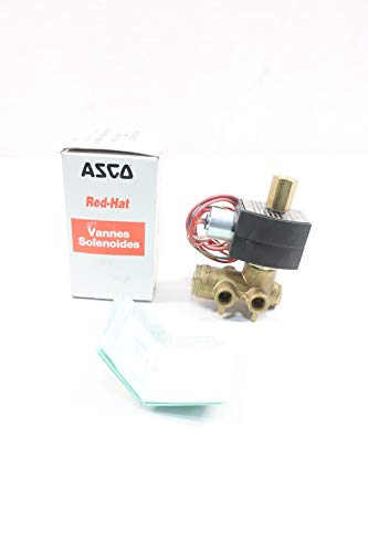 ASCO EF8345G1MO RED-HAT II Solenoid Valve 48V-DC 1/4IN NPT