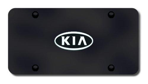 Kia Black License Plate