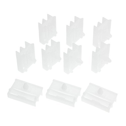 Bmw E46 Side Skirts - Mtsooning 30 Pcs Sill Side Skirt Clips Trim Clips Fasteners for Bmw E36 E46 51718184574