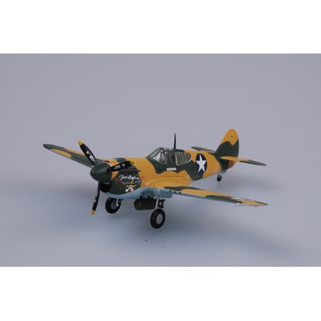 Easy Model P-40E Tomahawk 9FS 49FG 1941 Model Kits - Tomahawk Model