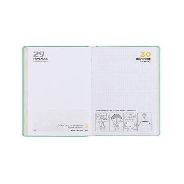 Comix - Diario 2020/2021 16 Mesi - Yellow neon - Mini 4 spesavip