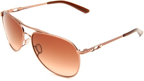 Oakley Womens Daisy Chain OO4062-01 Oval Sunglasses,Rose Gold Frame/Brown Gradient Lens,one - Womens Sunglasses Pink Oakley