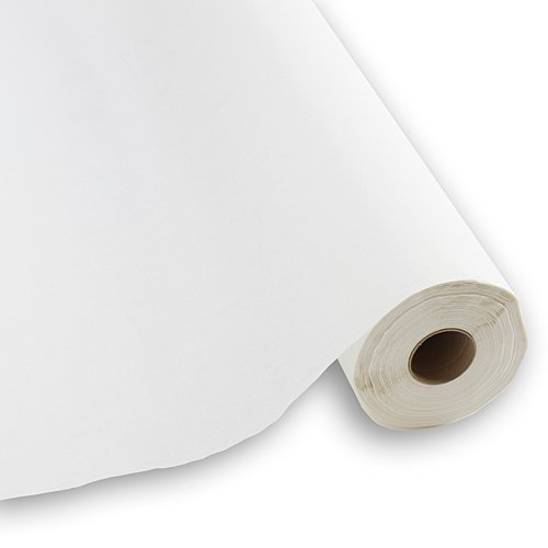 Buy caprice paper table cover 40 in. x 300 ft. roll, white