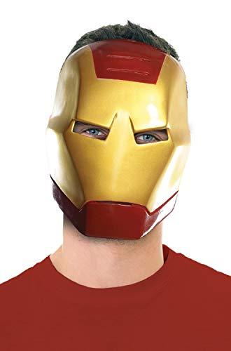 Ben Cooper Halloween (Rubie's Ben Cooper Iron Man Adult Mask, As Shown, One)