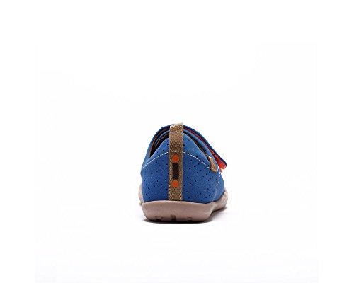 Kid Big Painted Microfiber Blue UIN Toledo Kid's Shoe Colorful wvCqU1n6