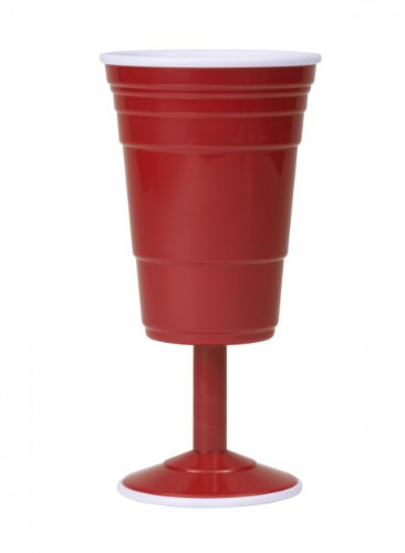 (Red Cup Living Reusable Wine Cup, 14-Ounce,)