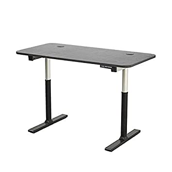 ApexDesk Vortex Series 60 6-Button Electric Height Adjustable Sit to Stand Desk Memory Controller, Black Top