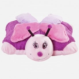 Pillow pets soft cushion butterfly cuddle buddy cushion for Amazon com pillow pets