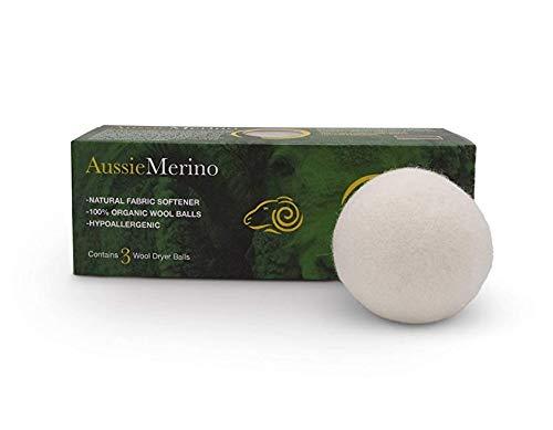 Aussie Merino Wool Dryer Balls (Natural) ()