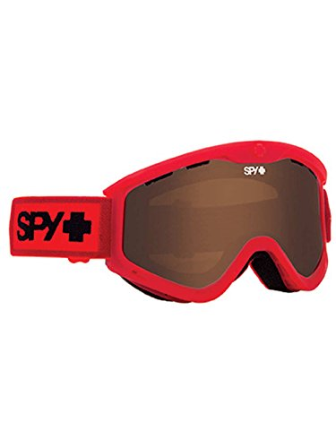 Spy Optic Elemental Red T3 Winter Sport Racing Snowmobile Goggles, Bronze, One Size by Spy