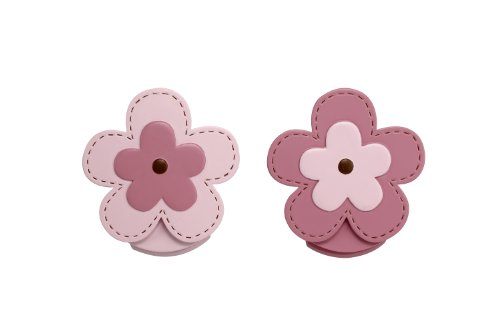 NoJo Wall Decor Clip, Flower, 2 Count (Nursery Quilt Clips)