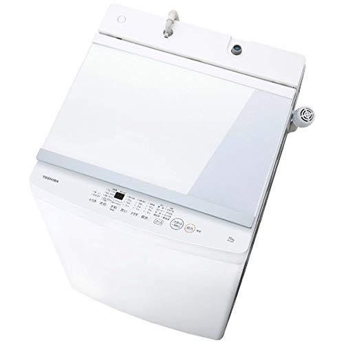 洗濯容量7kgと、先ほど紹介したアイリスオーヤマよりも1kg少ないが、価格はさらにお手頃。穴なし槽を採用しており、同機種の穴があるものと比べると、1回あたり約27Lの節水を実現している。