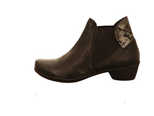 Think! Damen Sammas_181090 Chelsea Boots Schwarz