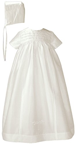 Silk Family Christening Baptism Gown - Size 3 Month by Little Things Mean A Lot