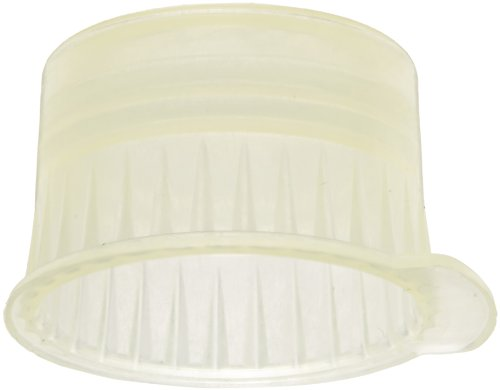 PlatinumCode 88030Y 13mm Cap for 13mm Vacuum and 12mm Glass or Plastic Tubes, Yellow (Bag of 1000)