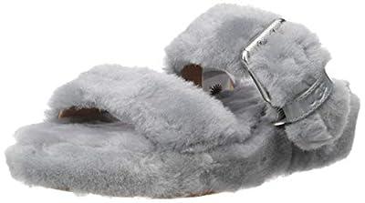 UGG Women's Fuzz Yeah Wedge Sandal