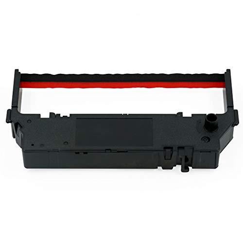 Black /& Red Printerfield IR-40T 6 Pack Compatible Calculator Printer Ribbons Ink Roller