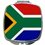 South Africa Flag Mirror Compact