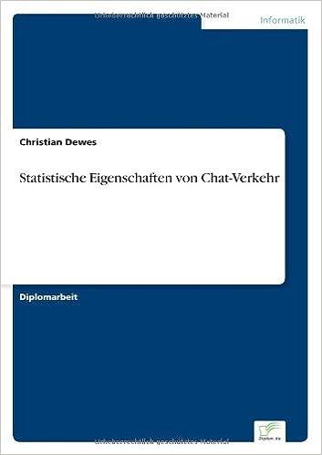 Book Statistische Eigenschaften von Chat-Verkehr