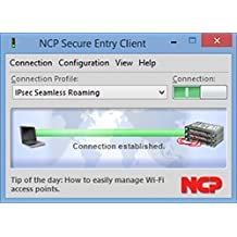 NCP Secure Entry Client (Win32/64) Update