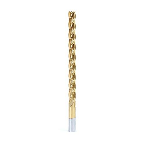 High Speed Steel 4 Flute - Amana Tool HSS1214 Foam Cutting Square End 1/2 D x 6 CH x 1/2 SHK x 8 Inch Long Extended Reach CNC High Speed Steel (HSS) TiN Coated 4-Flute Spiral Up-Cut Router Bit