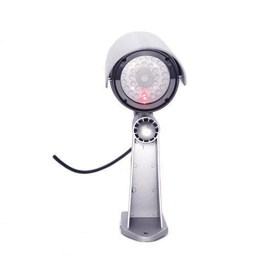 LingsFire® Outdoor Fake , Dummy Security Waterproof Camera with Flashing LED Red Light for Indoor or out Door use.