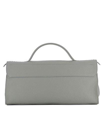 Grau Damen Zanellato Leder Handtaschen 06517P659 HE6nw8q