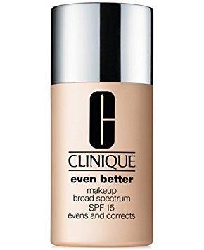 New Clinique Even Better Makeup SPF 15, 1 oz / 30 ml, 06 Honey (MF-G)
