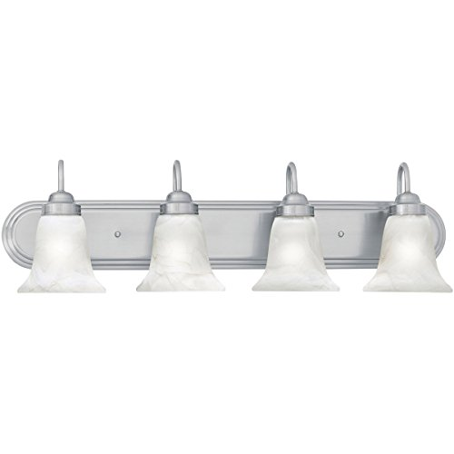 Thomas Lighting Sl7584-78 Homestead Transitionally Styled Four-Light Bath Fixture, Brushed Nickel