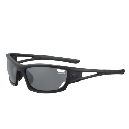 Tifosi Dolomite 2.0 1020100101 Wrap Sunglasses,Matte Black,141 mm (Cycling Sunglasses Budget)