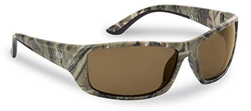 Flying Fisherman Buchanan Polarized Sunglasses with AcuTint UV Blocker for Fishing and Outdoor Sports, Matte Camo