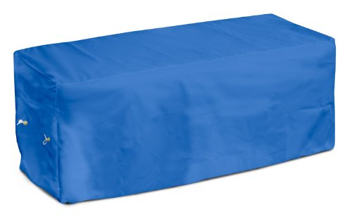 KoverRoos Weathermax 04207 8-Feet Bench Cover, 96-Inch Width by 25-Inch Diameter by 36-Inch Height, Pacific Blue by KOVERROOS