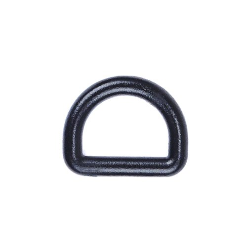 tweight Black Plastic D-Ring D Shaped ()