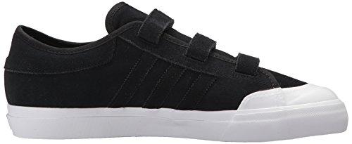 Adidas Originals Menns Matchcourt Jf Skatesko Svart / Svart / Hvit
