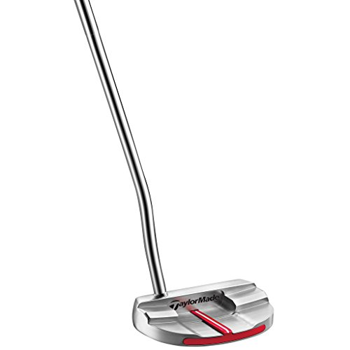 TaylorMade N1538326 Big Red Monte Carlo Super Stroke Putter, Right Hand, 34'