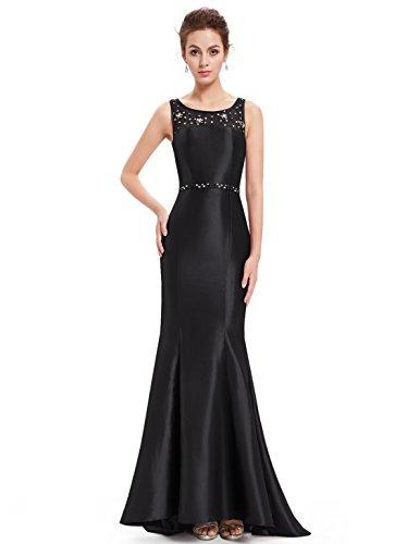 Ever-Pretty HE08511RD06 - Vestido para mujer Negro