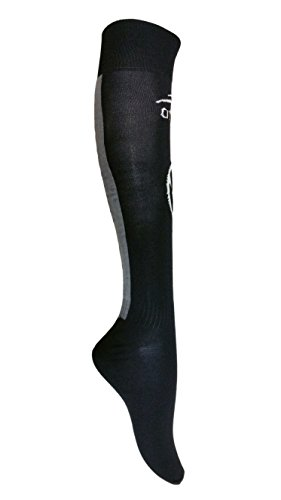 fan products of Men's Official Atletica High Long Socks Soccer Teams (Puebla Black)