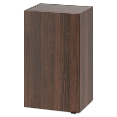 Hospitality Wall Cabinet, One Door, 18w x 14d x 30h, Columbian Walnut, Sold as 1 Each