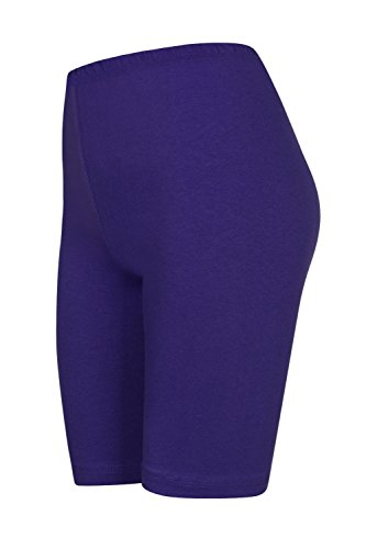 hot Viola sopra pantaloncini pantaloncini colori pants da 16 calzoncini Pack ginocchio con 2 fwt7aq0