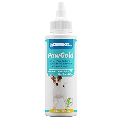 Fur Goodness Sake Dog Paw Balm & Paw Soother - Dog Paw Protection Best for Summer Heat - Argon-Oil Paw Wax and Pad Moisturizer - Non-Slip and Lick ()