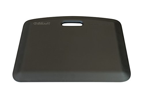 iMovR EcoLast Portable Standing Mat - Made in USA (Black) by EcoLast