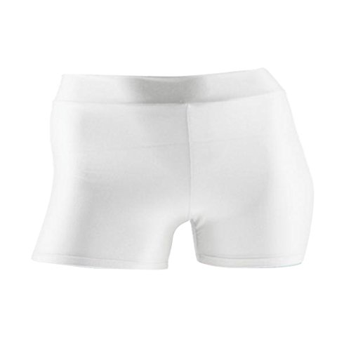 Boxer Palestra Fitness bianca Uomo Ciclismo da Pantaloncini da L Magideal Ginnastica per Corsa d1xwq0dSC
