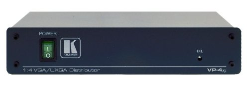 Kramer Electronics (VP-4xl) 1:4 Computer Graphics Video Distribution Amplifier, VGA/UXGA Splitter