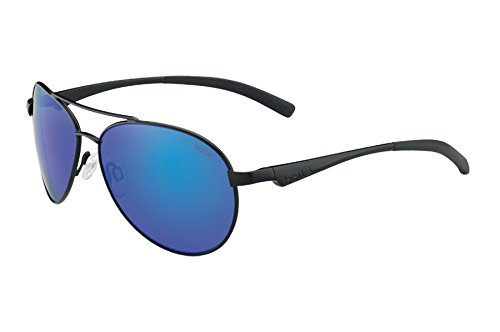 Bolle Cassis Sunglasses, Matte Black/Polarized GB-10 Oleo AF