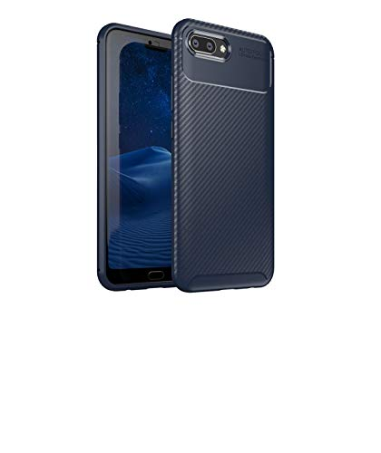 Huawei Honor 10 Case, Forhouse Anti-Scratch Slim Soft TPU Bumper Flexible Rubber Silicone Shockproof Case for Huawei Honor 10 (Dark Blue)
