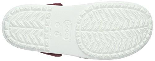 Crocs Citilane Clog, Zuecos Unisex, , Morado (Pomegranate/White)