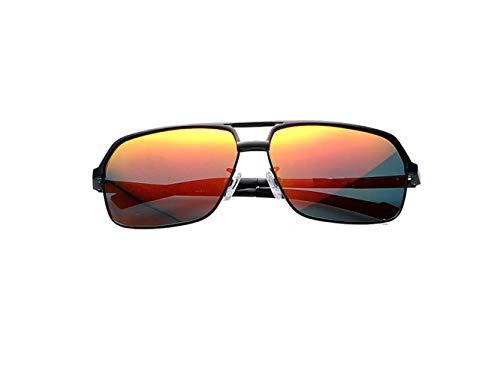 Marco Libre Sol Polarizadas De liwenjun Marco Diseño Película Prismático Color Aire Gafas Sol Deportes Gafas Roja De Pesca Pareja Gafas Negro Película Conducir Al De Roja De qEp6Bx